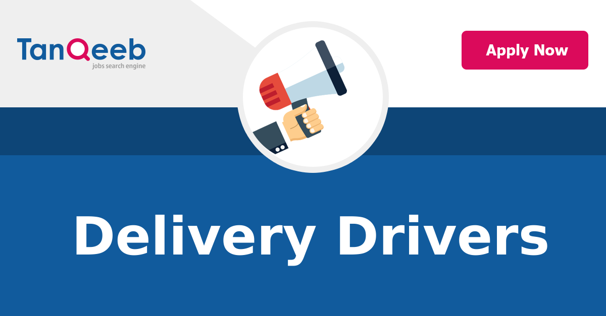 Delivery Drivers - Job Vacancy
